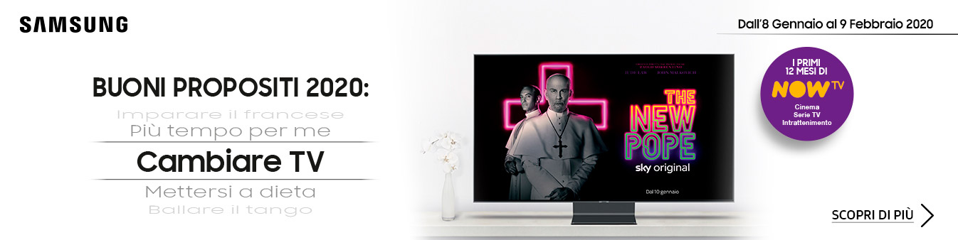 Samsung | NOW TV in regalo