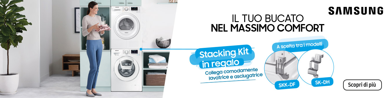 Samsung Stacking Kit in regalo