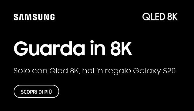 Samsung 8K regala Galaxy S20