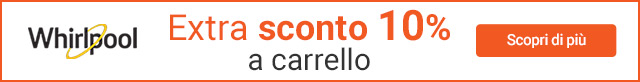 Whirlpool | Extra Sconto 10 a carrello