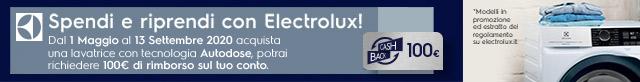 Spendi e riprendi con Electrolux