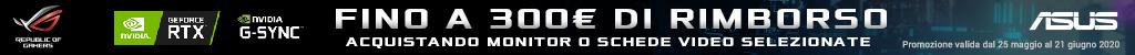 Asus: rimborso fino a 300¤ (monitor e schede video)