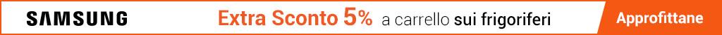 Samsung - Extra Sconto 5% frigoriferi