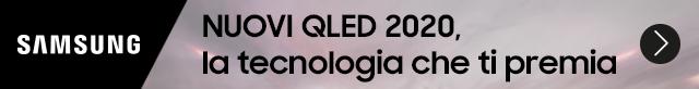 Samsung TV QLED 2020 la tecnologia che ti premia