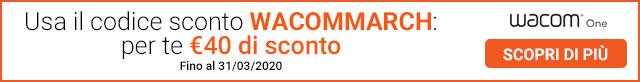 Wacom One - Codice Sconto