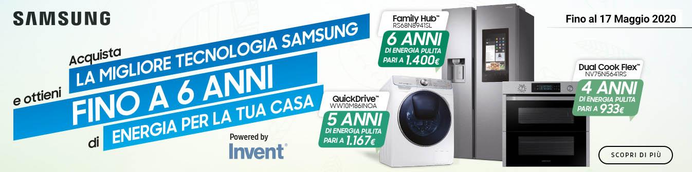 Samsung: 1400 ¤ di RicaricaLuce