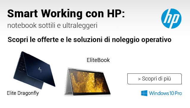 Smart Working con HP