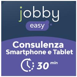 Jobby Easy Card Configurazione Smartphone/Tablet 30 minuti