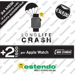 Estensione di Assistenza 2 anni + Crash 24 mesi per caduta accidentale Apple Watch
