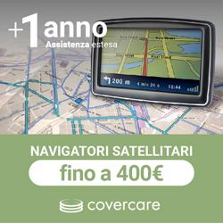 Assistenza estesa Covercare 3 anni Navigatori satellitari da 0 a 400¤