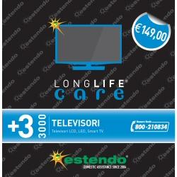 Estensione di Assistenza Care 3 anni TV (esclusi i PLASMA) fascia 2000-3000¤