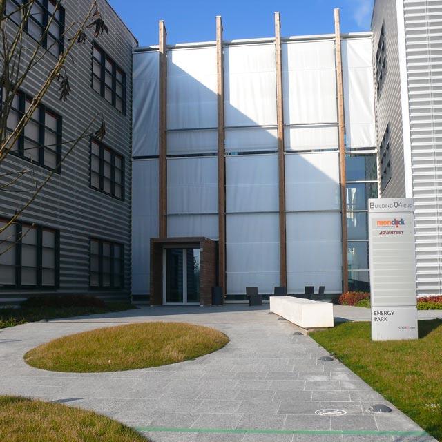 Esterno del Building 04 presso l'Energy Park di Vimercate