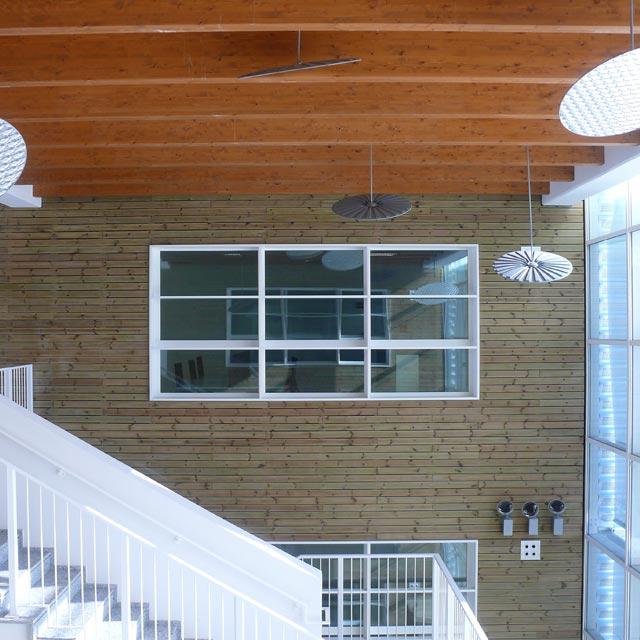 Interno del Building 04 presso l'Energy Park di Vimercate 1